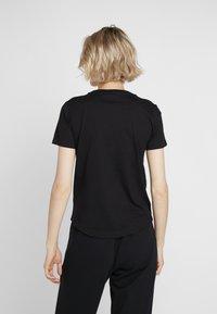 Champion - CREWNECK  - Basic T-shirt - black - 2