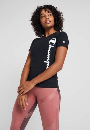 CREWNECK  - T-shirts med print - black