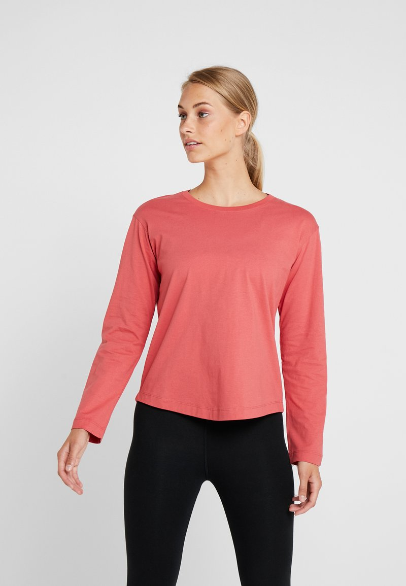Champion - LONG SLEEVE - Long sleeved top - red