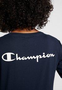 Champion - LONG SLEEVE - T-shirt à manches longues - dark blue - 5