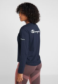Champion - LONG SLEEVE - T-shirt à manches longues - dark blue - 2