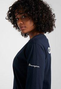 Champion - LONG SLEEVE - T-shirt à manches longues - dark blue - 3