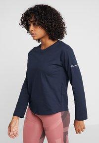 Champion - LONG SLEEVE - T-shirt à manches longues - dark blue - 0