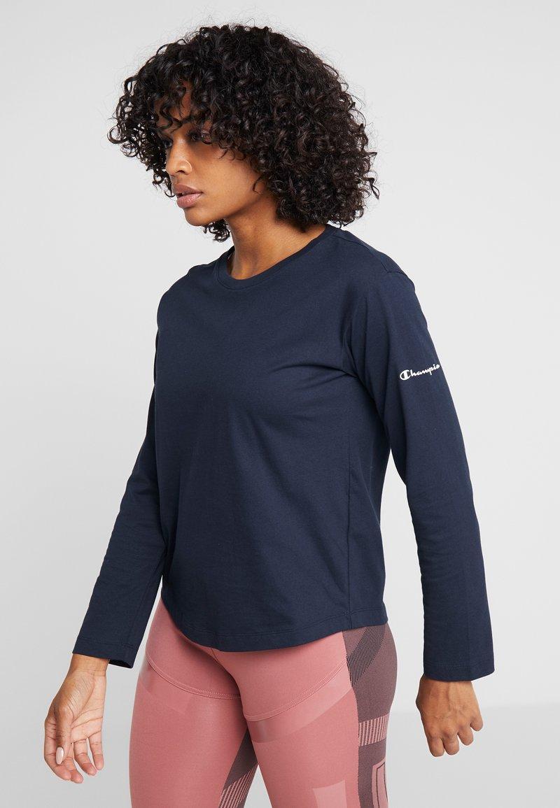 Champion - LONG SLEEVE - T-shirt à manches longues - dark blue