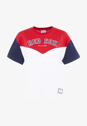MLB BOSTON RED SOX CREWNECK - T-shirt imprimé - red/white