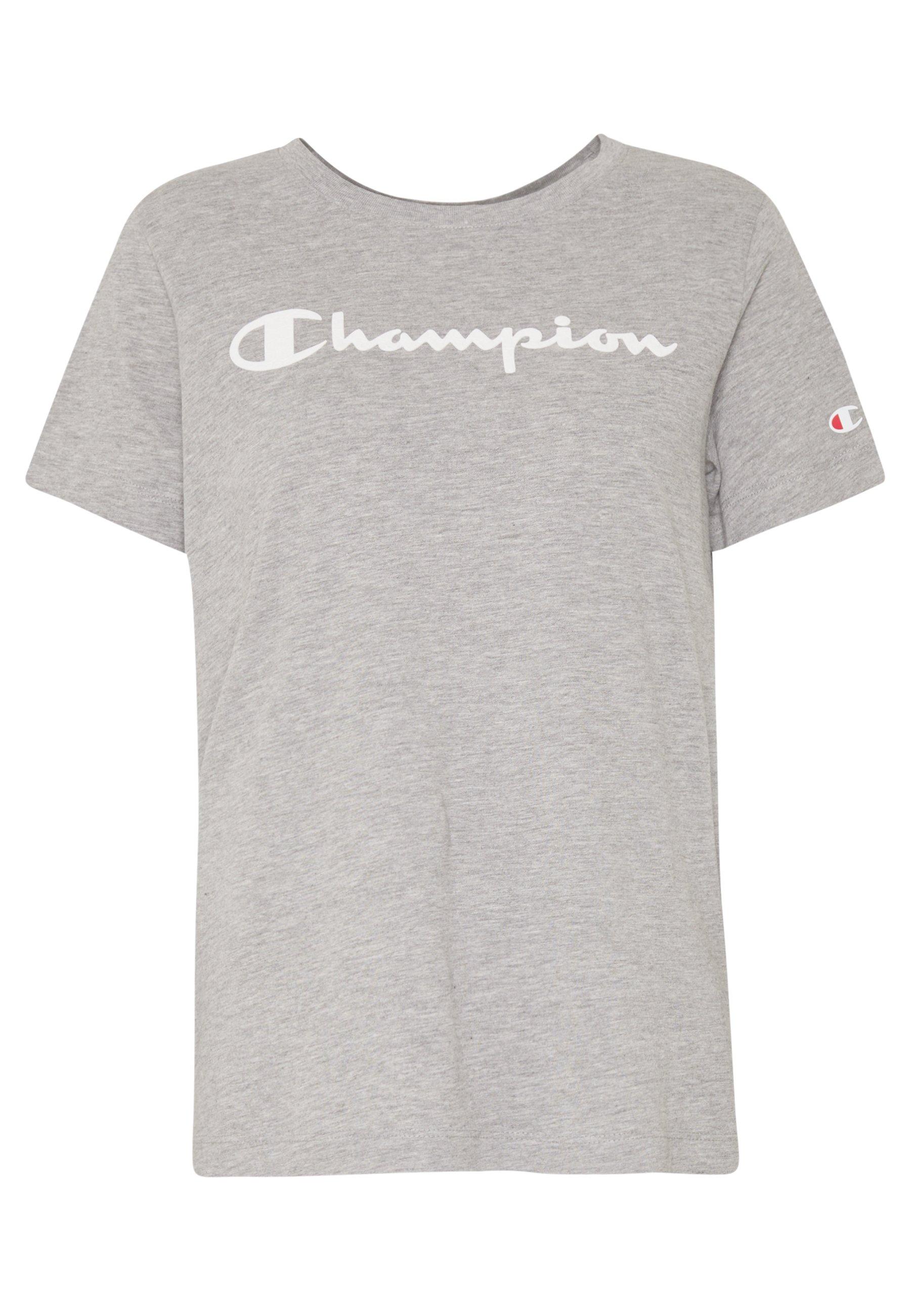 Champion CREWNECK T shirt imprimé black ZALANDO.FR