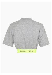 Champion - HIGH NECK - Camiseta estampada - dark grey - 1