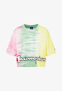 Champion - CREWNECK - Print T-shirt - yellow - 3