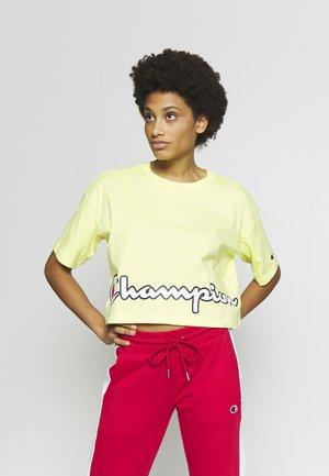 CREWNECK  - Print T-shirt - yellow