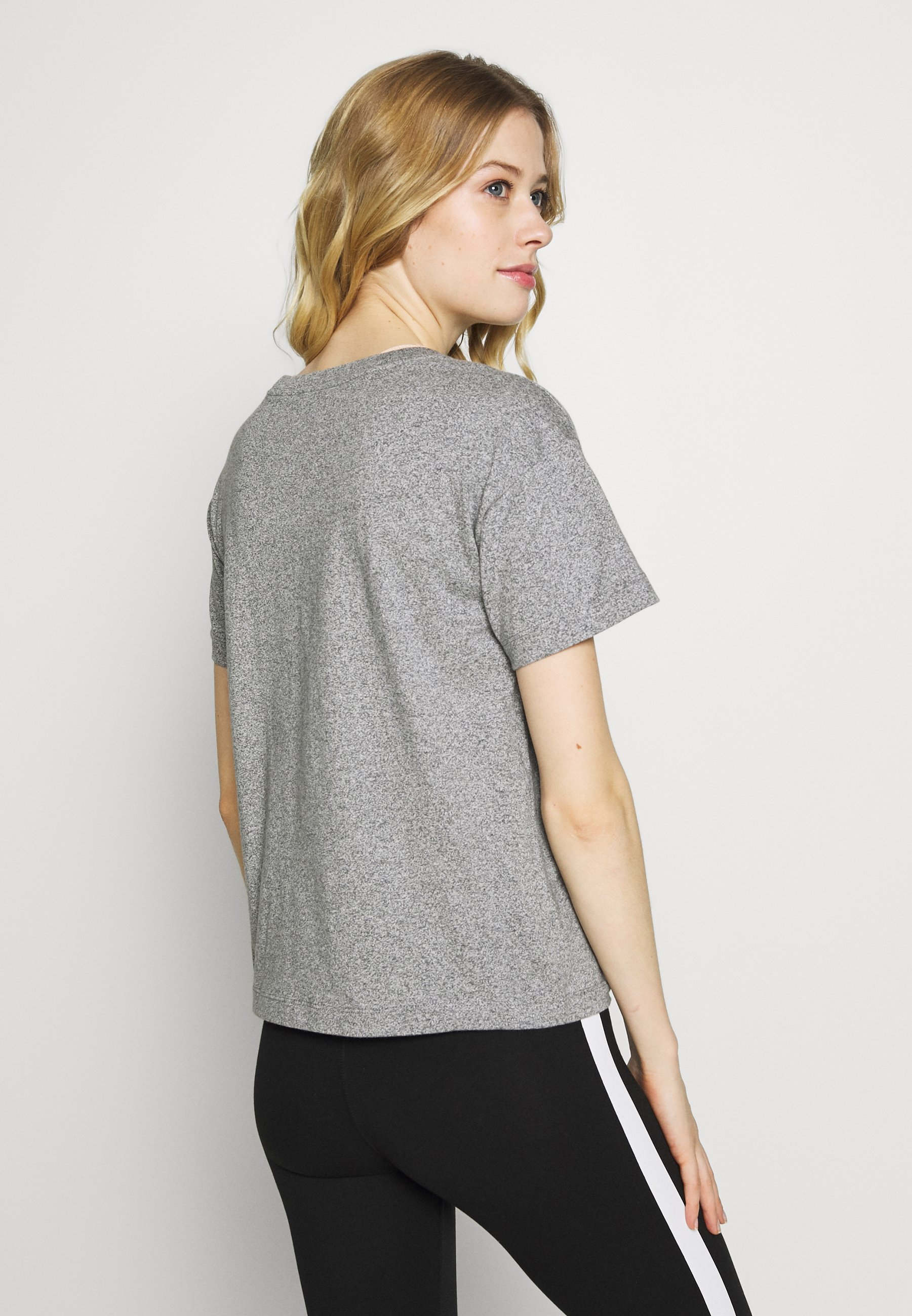 Champion CREWNECK - T-shirt con stampa - grey melange
