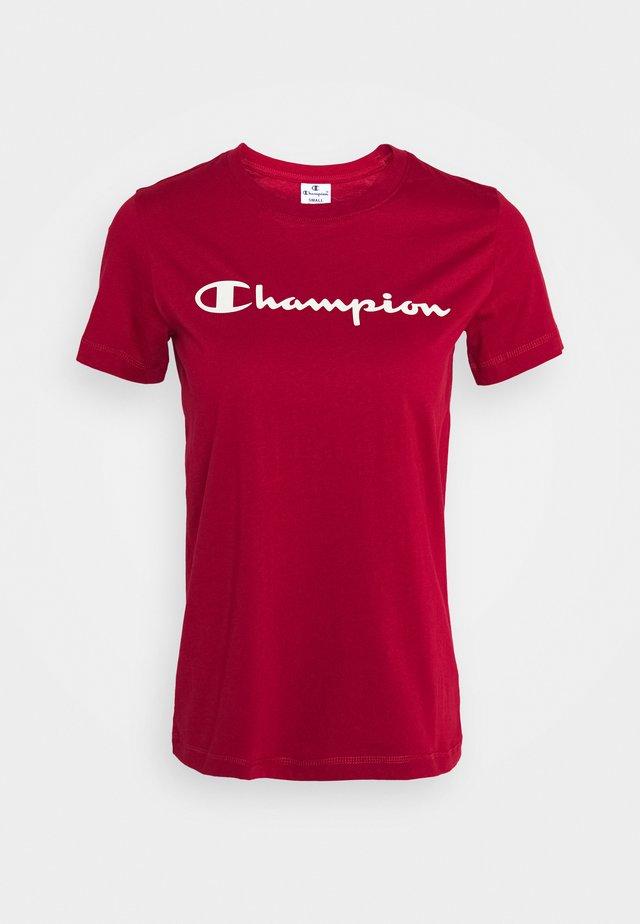 CREWNECK LEGACY - T-shirts med print - dark red