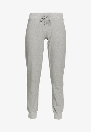 RIB CUFF PANTS - Tracksuit bottoms - grey
