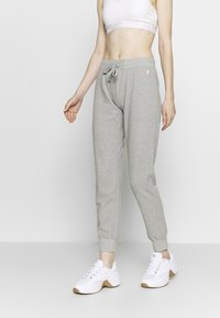 Champion - RIB CUFF PANTS - Pantalones deportivos - grey - 0