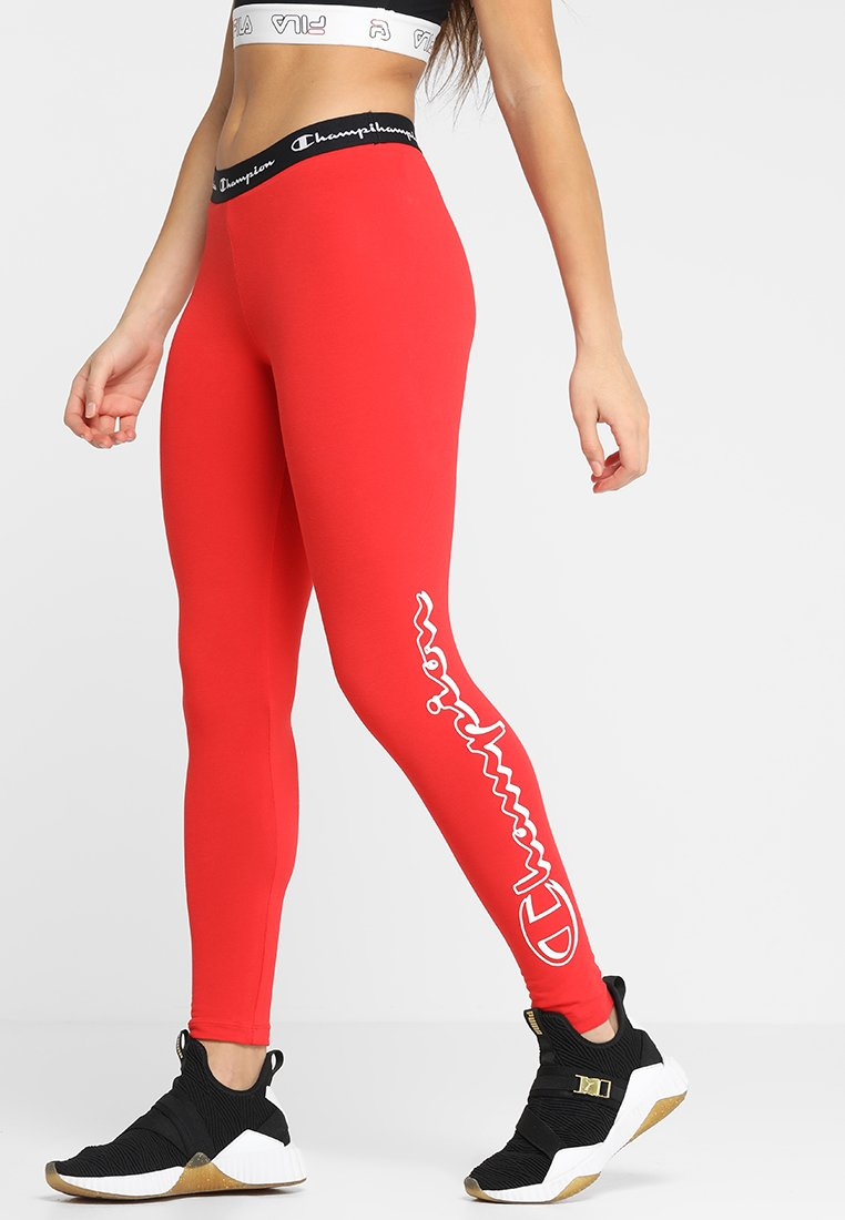Champion - LEGGINGS - Tights - red