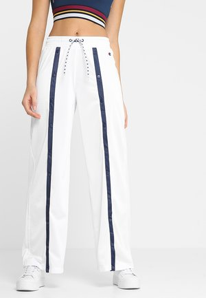 STRAIGHT HEM PANTS - Pantalon de survêtement - white
