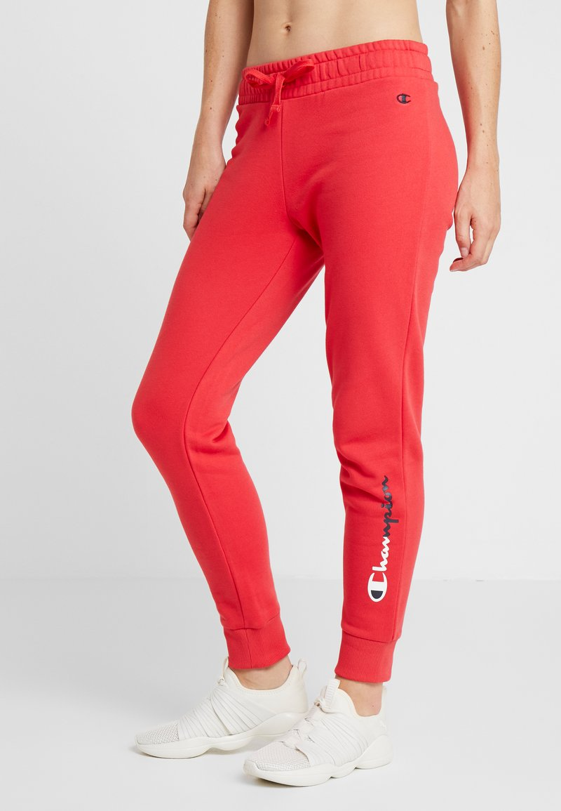 Champion - RIB CUFF PANTS - Jogginghose - red