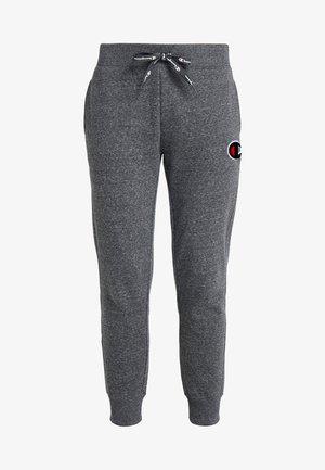 CUFF PANTS - Pantaloni sportivi - mottled dark grey