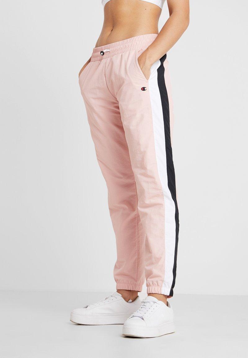 Champion - ELASTIC CUFF PANTS - Pantalon de survêtement - pink