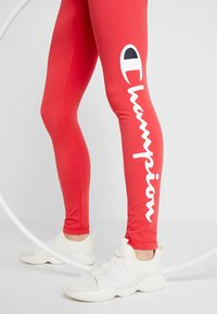 Champion - LEGGINGS - Tights - red - 3