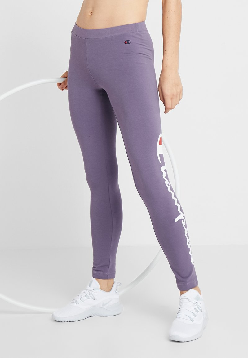 Champion - LEGGINGS - Tights - purple