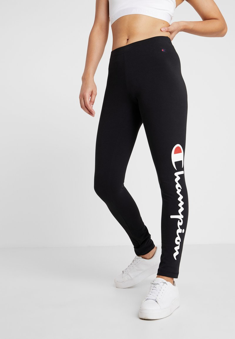 Champion - LEGGINGS - Leggings - black
