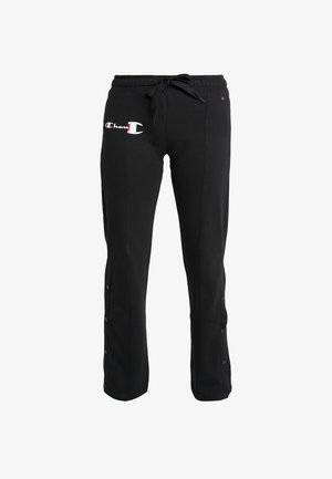 STRAIGHT PANTS - Træningsbukser - black