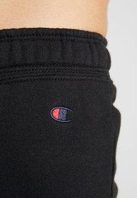 Champion - STRAIGHT PANTS - Trainingsbroek - black - 5