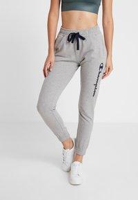 Champion - ELASTIC CUFF PANTS - Jogginghose - mottled light grey - 0