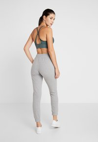Champion - ELASTIC CUFF PANTS - Jogginghose - mottled light grey - 2
