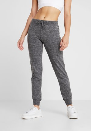 CUFF PANTS - Pantalon de survêtement - mottled dark grey
