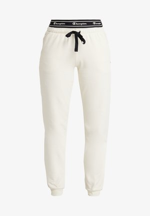 CUFF PANTS - Träningsbyxor - off-white