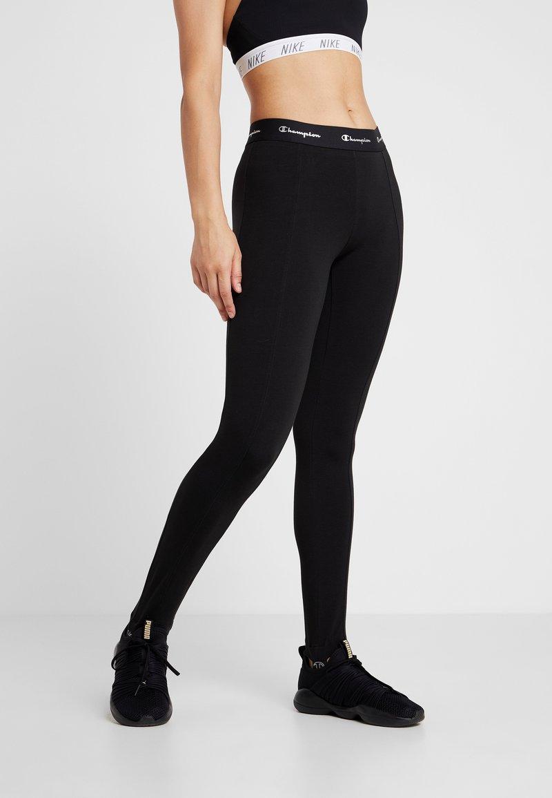 Champion - PANTS - Tights - black