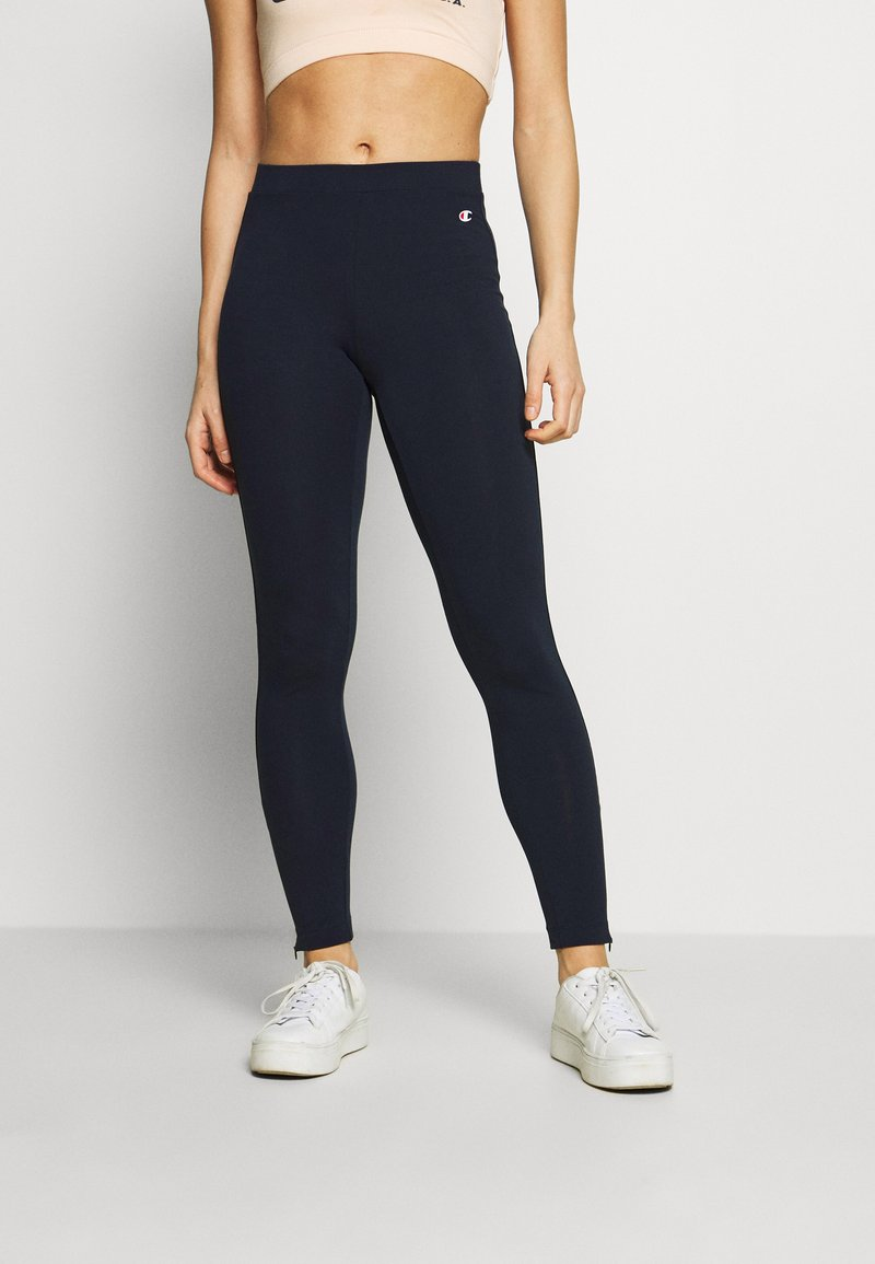 Champion - LEGGINGS - Tights - dark blue denim