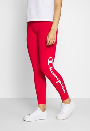 LEGGINGS - Tights - red