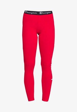 LEGGINGS - Leggings - red