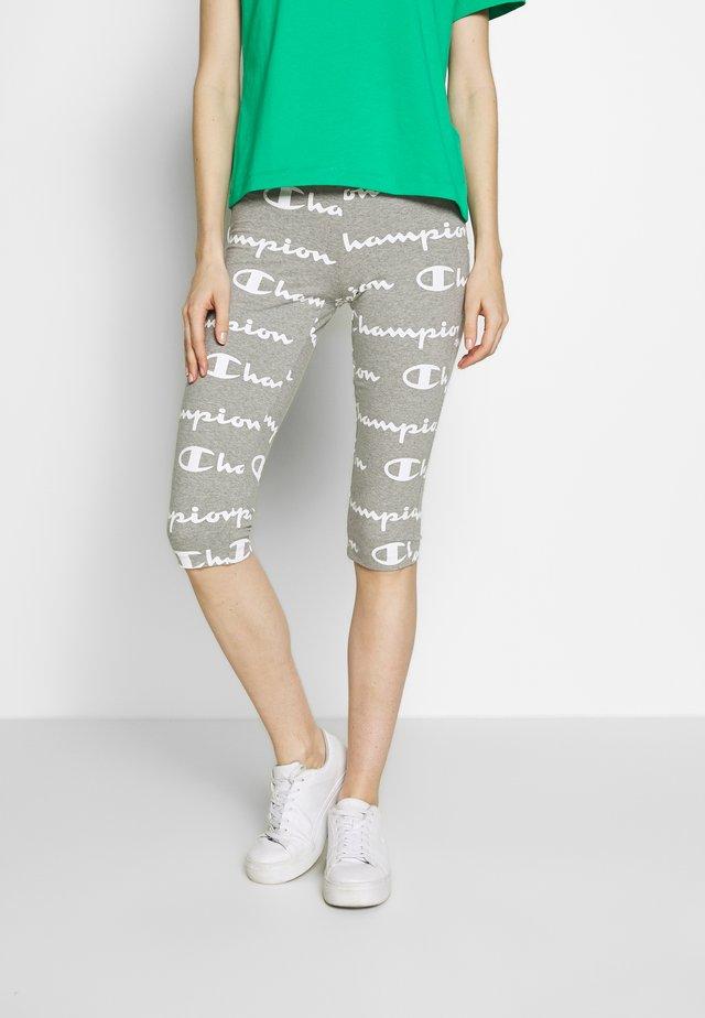 LEGGINGS - 3/4 sports trousers - dark grey