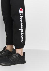 Champion - ELASTIC CUFF PANTS - Träningsbyxor - black - 3