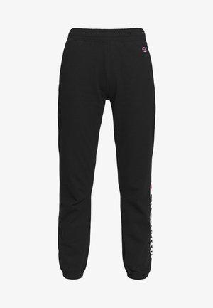 ELASTIC CUFF PANTS - Træningsbukser - black
