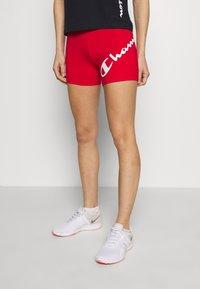 Champion - SHORTS - Leggings - red - 0