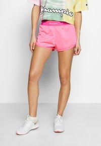 Champion - SHORTS - Sports shorts - neon pink - 0