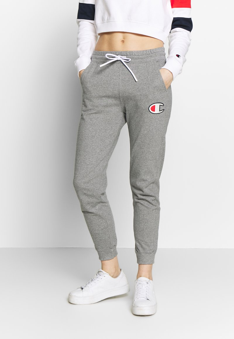 Champion - CUFF PANTS - Tracksuit bottoms - grey