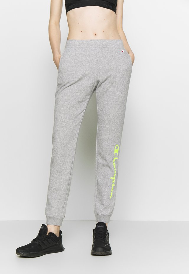 RIB CUFF PANTS - Spodnie treningowe - grey