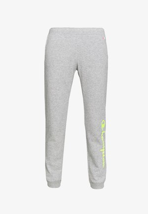 RIB CUFF PANTS - Tracksuit bottoms - grey