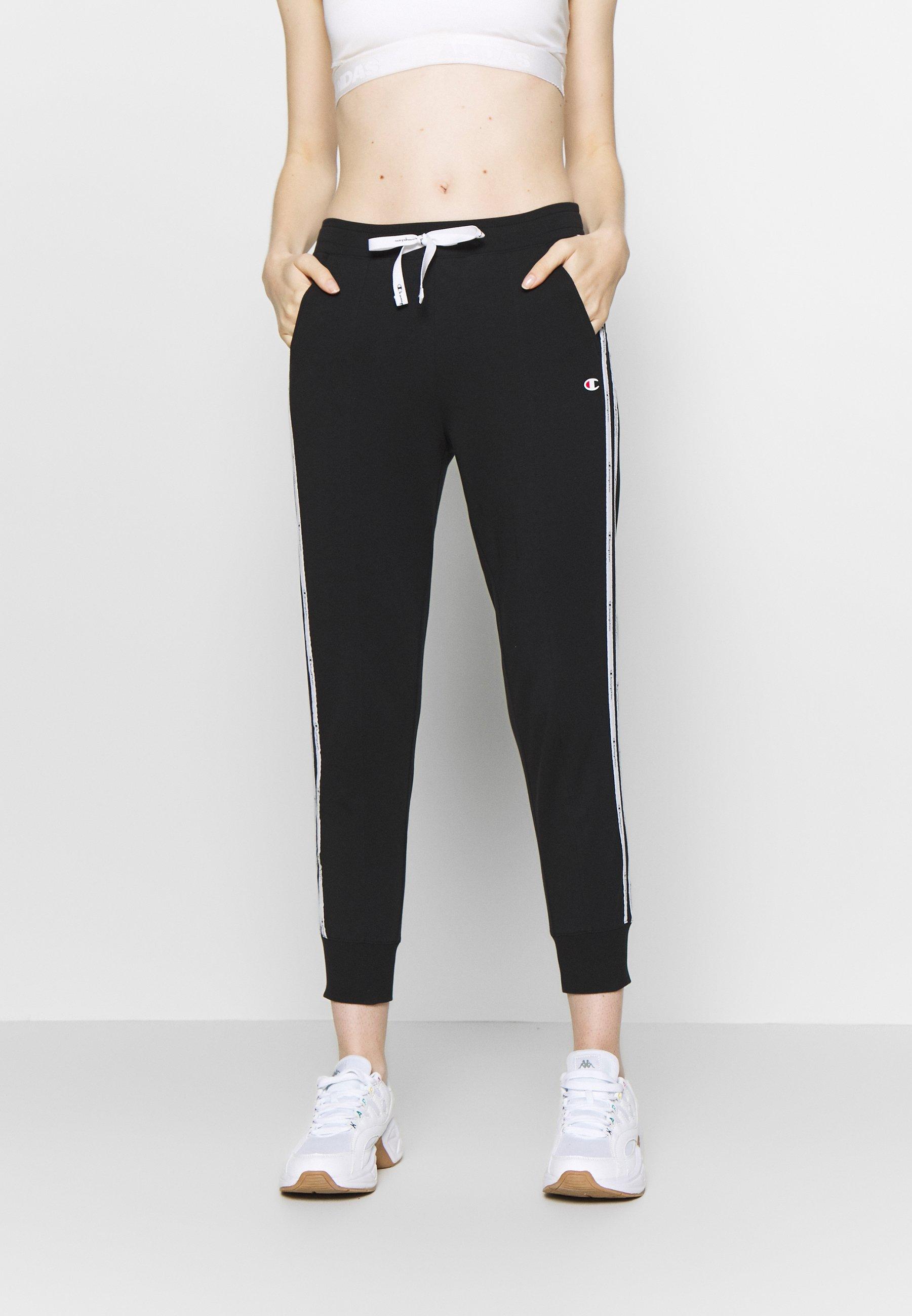 Champion RIB CUFF PANTS - Spodnie treningowe - black