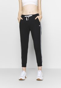Champion - RIB CUFF PANTS - Joggebukse - black - 0