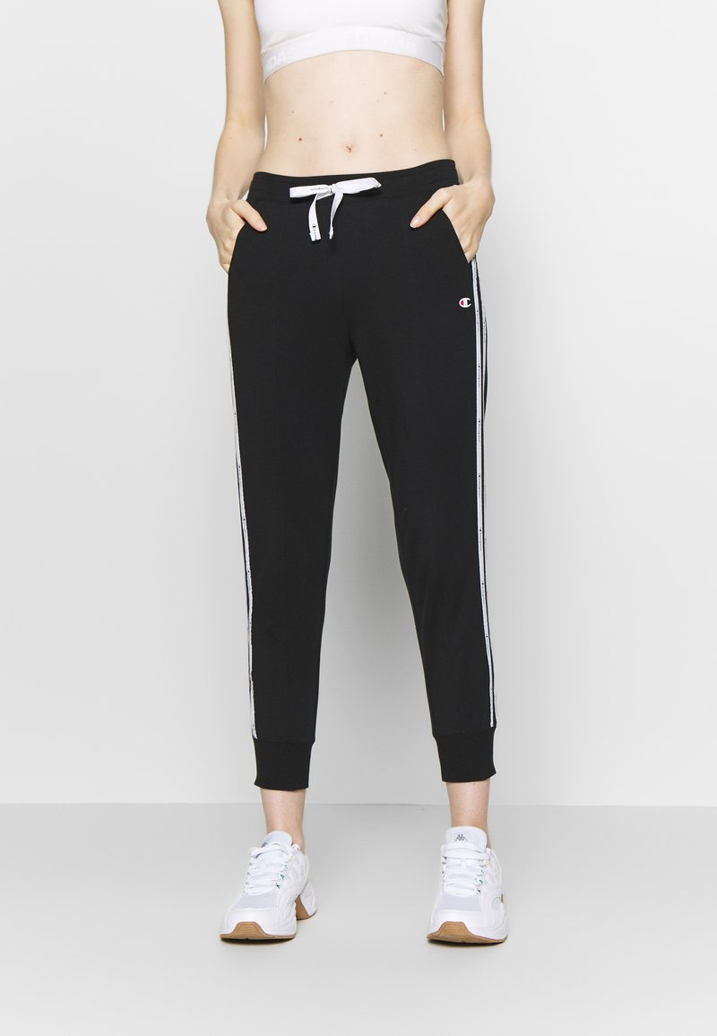 Champion - RIB CUFF PANTS - Joggebukse - black