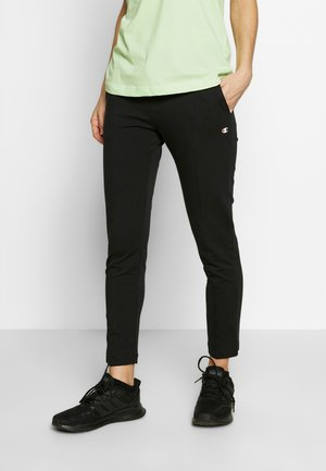 SLIM PANTS - Spodnie treningowe - black