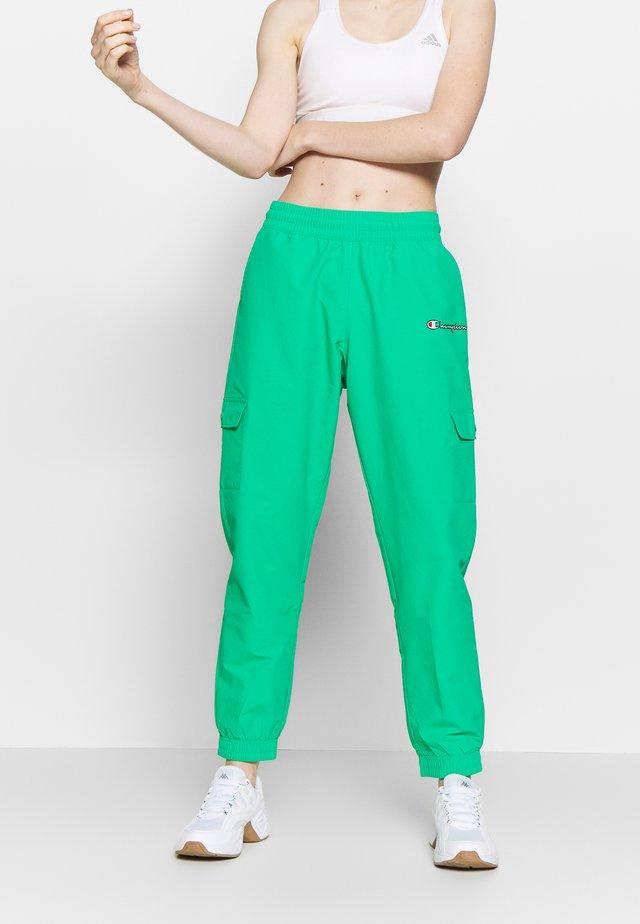 ELASTIC CUFF PANTS - Spodnie treningowe - mint