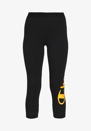 7/8 LEGGINGS - Leggings - black