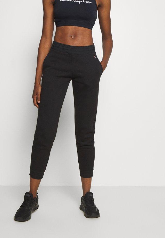 ELASTIC CUFF PANTS LEGACY - Spodnie treningowe - black
